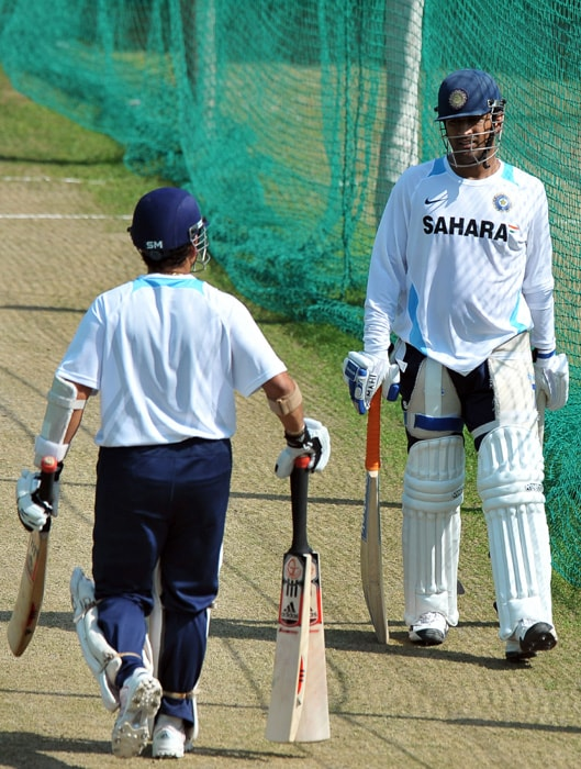 7 Team India practice on eve of Test image gallery