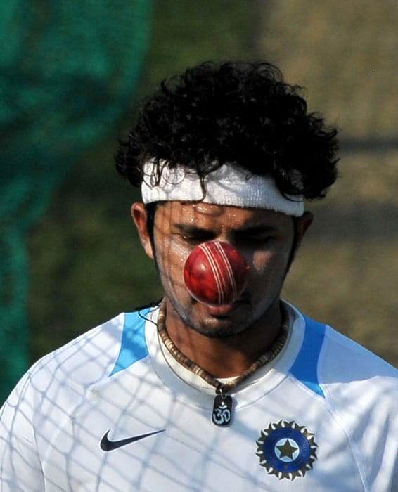 8 Team India practice on eve of Test image gallery