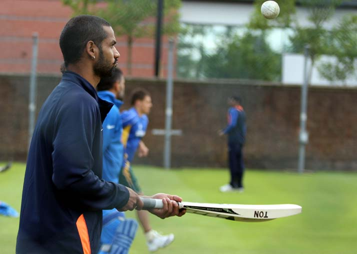 With 332 runs from four matches, Shikhar Dhawan has been in smashing form. The left-hander has a wide range of shots from playing through the covers to upper-cut and also a good puller of the ball.
