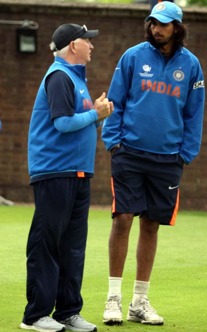 Ishant Sharma, the man of the match in semi-final against Sri Lanka, is enjoying a good run of form with the ball. Is coach Duncan Fletcher the brain behind his success?