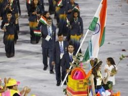 Photo : Rio Olympics: Indian Contingent Makes a Statement at Opening Ceremony