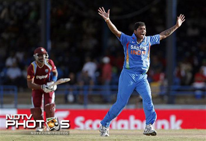 Fast bowler Umesh Yadav also bagged three wickets off 8 overs, while Ishant Sharma got 2 from his 7 overs.