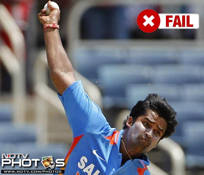 <b>Vinay Kumar</b><br><br> Vinay Kumar could only find a place in the final ODI and made a good start as well but unfortunately the Kochi Tuskers Kerala paceman could not carry the momentum forward.