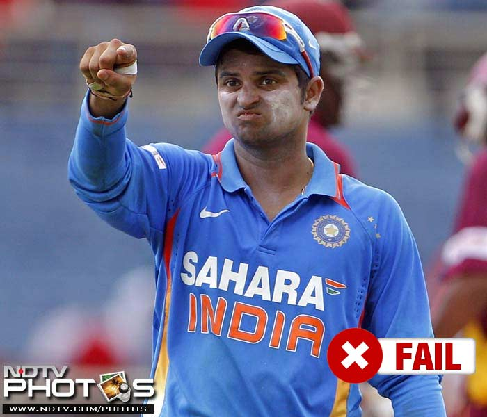 <b>Suresh Raina</b><br><br> With most seniors opting out, the BCCI had handed over the captaincy to Suresh Raina, who did a decent job leading the side but could not live up to his usual job of a prolific middle order batsman. He managed just 82 runs off the 5 ODI matches with a highest score of 43.