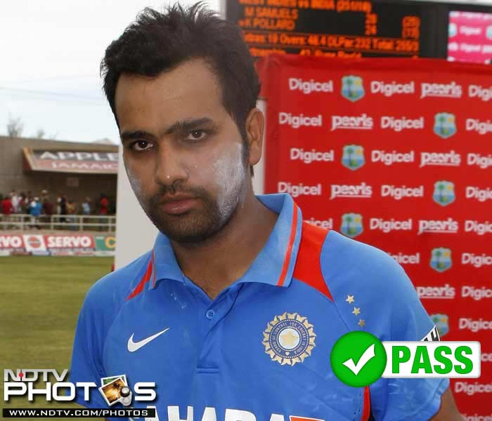 <b>Rohit Sharma</b><br><br> By far India's most successful batsman in the ODI series, Rohit Sharma scored 257 runs at an average of 128.50 runs. The importance of Rohit Sharma to the side can be calculated from the fact that in the 2 matches he got out, India ended up on the losing side.