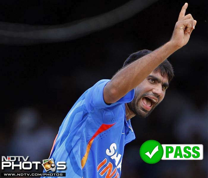 <b>Munaf Patel </b><br><br> With criticism from a Caribbean great at the back of his mind, Munaf Patel continued to focus more on accuracy than his pace. In a tour which saw an unlikely skipper, a depleted side and some surprisingly favourable results, Munaf Patel found an unlikely status of being a senior in the side; so much so, that he was rested in the last two ODIs.