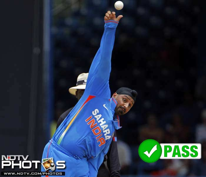 <b>Harbhajan Singh</b><br><br> Harbhajan Singh has been quite a fiery personality but unfortunately for India the 'Turbanator' has been firing blanks of late. India's vice captain for the tour managed 4 wickets in the tournament but did a good job in limiting the scoring to just 3.56 runs an over to his credit. Harbhajan Singh also played a crucial role with the bat, as his 41-run innings in the 3rd ODI helped India clinch the series.