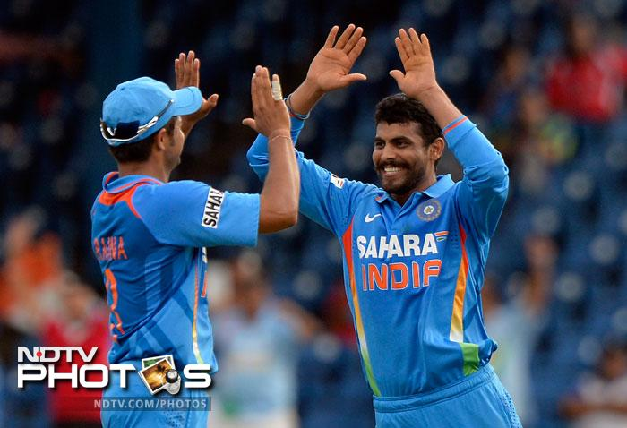 Ravindra Jadeja also picked up two wickets and Sri Lanka were bowled out for 96 in 24.4 overs, 81 runs short.