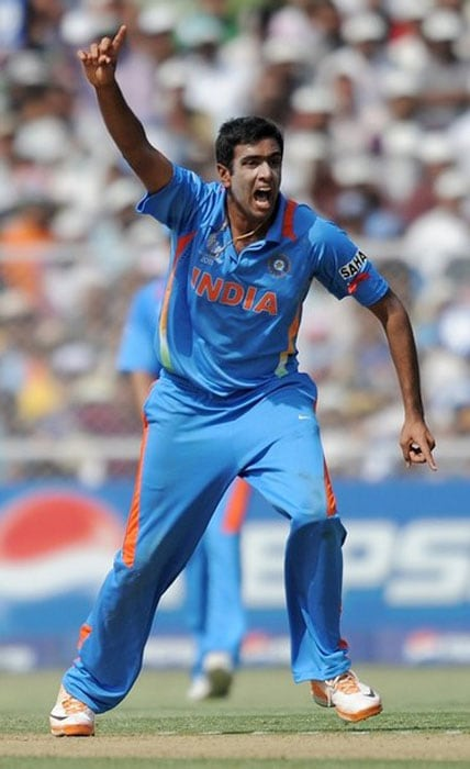 <b>R Ashwin:</b><br><br> The Tamil Nadu spinner has been extremely impressive while playing for India as well as his IPL side, Chennai Super Kings. He had a vital role in Chennai's recent IPL winning campaign, where they retained the trophy. In his young career of 9 ODIs, Ashwin has played the West Indies once - in the 2011 World Cup group game that India won by 80 runs, with the spinner grabbing 2 wickets.
