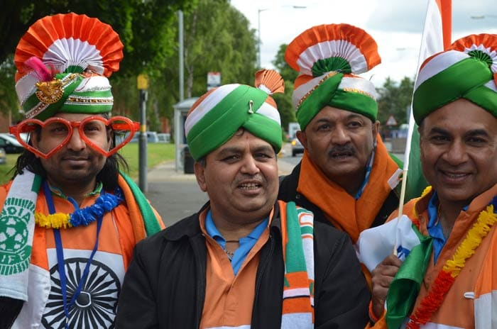 The Bharat Army is all set to stand by their team as they get ready for the big game.