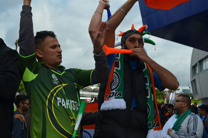 What makes an India-Pakistan clash a spectacular affair is the sheer passionate noise that fans of both nations drum up.