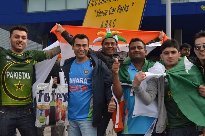 With India and Pakistan facing off at Edgbastonin the ICC Champions Trophy 2013, it is no surprise that fans of both teams throng to the stadium. As they flock in numbers, a look at their different moods and styles.