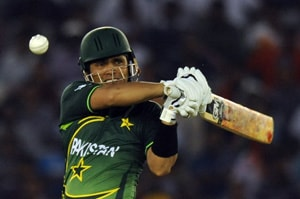 Kamran Akmal could not build on his good start as he was dismissed for 19 runs. (AFP Photo)