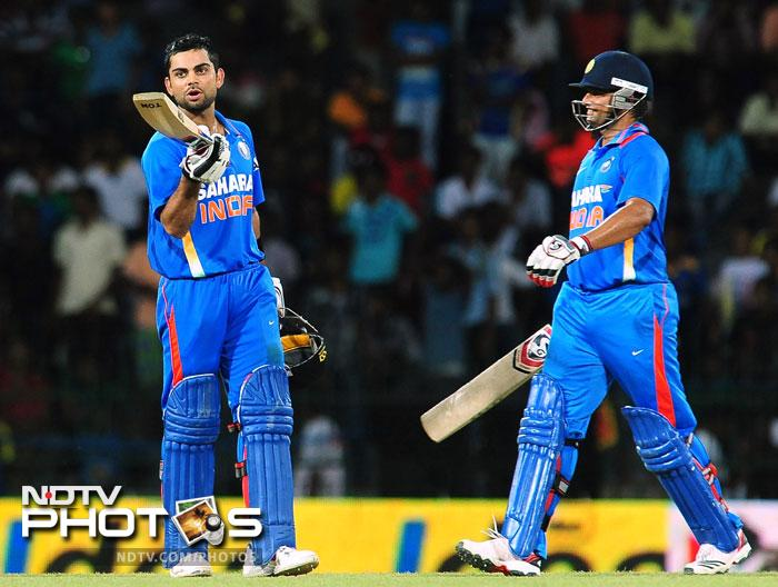 Virat Kohli was his brilliant self. He batted sedately to begin with but gathered pace in the middle overs. Once the Delhi lad was joined in by Suresh Raina, after the dismissal of Manoj Tiwary, he played out of his skin. Kohli scored a brilliant 128 off 119 while Raina got 58 off 51.