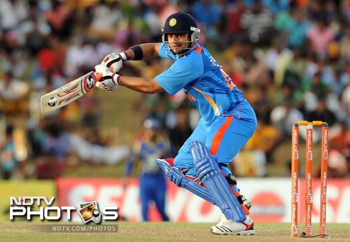 After the departure of both it was Suresh Raina's turn to come to the party as he hit yet another half-century to help India reach a competetive 314/6.