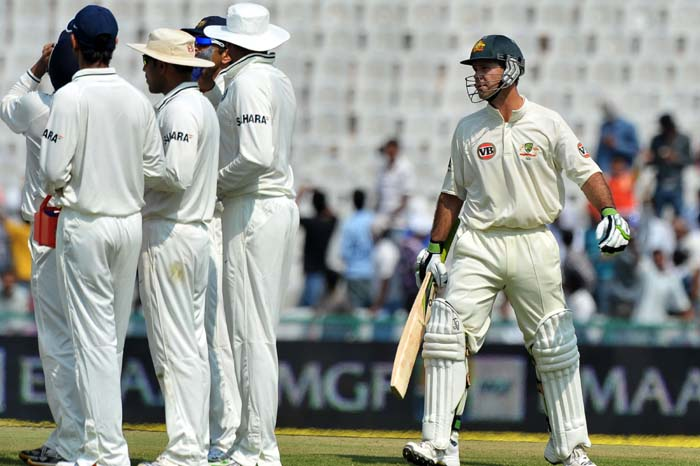 Zaheer Khan and Ricky Ponting Dispute in India vs Australia Test