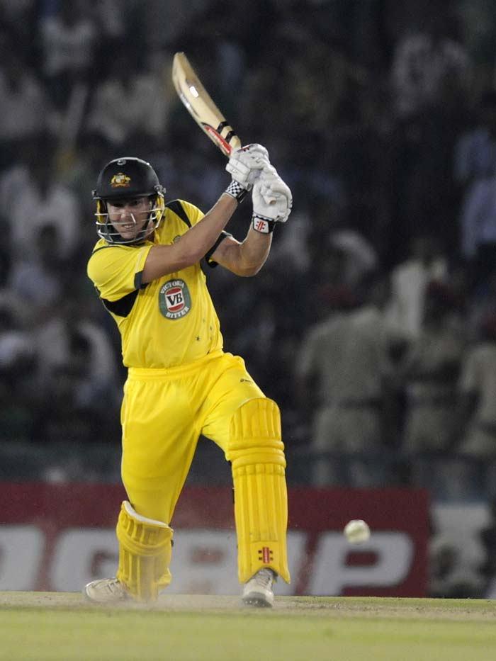 India were well placed with Australia needing 44 from 18 balls. But James Faulkner had a different plan. He hit Ishant Sharma for 30 runs in the 48th over - four sixes - to change the course of the game. He sealed the win with a huge six with three balls to spare and helped Australia take a 2-1 lead.