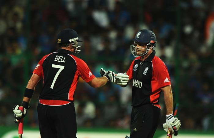 Bell and Strauss were going all guns blazing scoring runs at ease and England looked certain to win. (Getty Images)