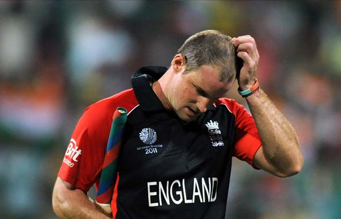 England skipper Andrew Strauss was dismissed for a well made 158 off just 145 balls, arguably his best batting performance. (Getty Images)