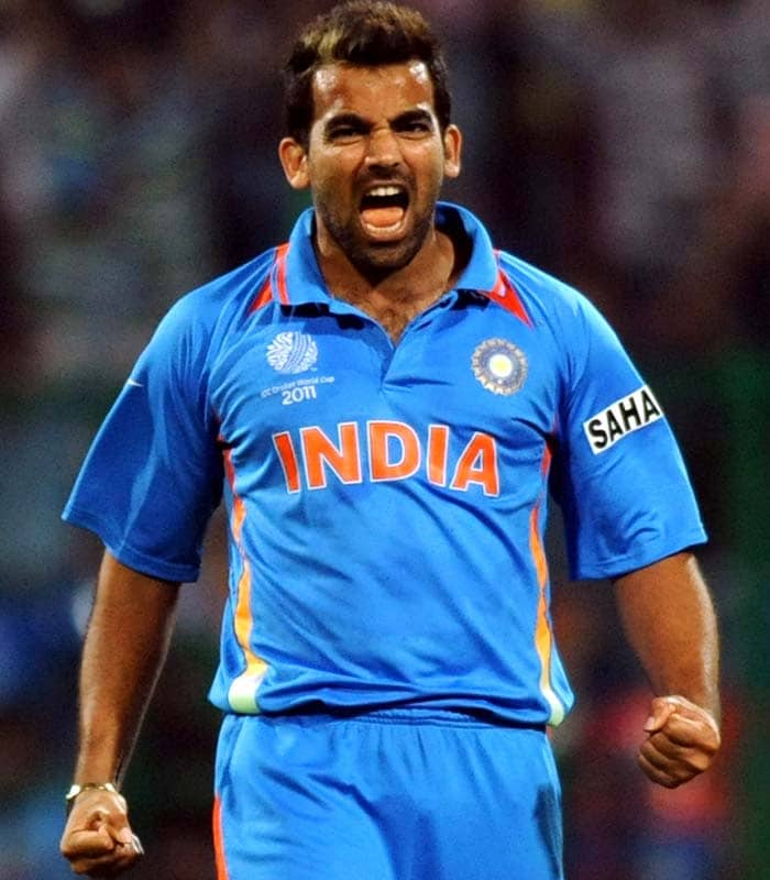 But a spell of inspired bowling by Zaheer Khan turned the game on its head giving Indians the upper hand. (Getty Images)