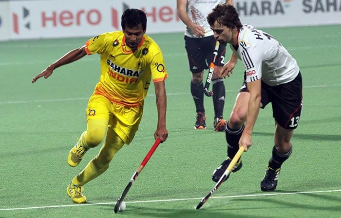 Forward Yuvraj Walmiki was crucial to India's successes going forward as they dominated the visitors for much of the match.