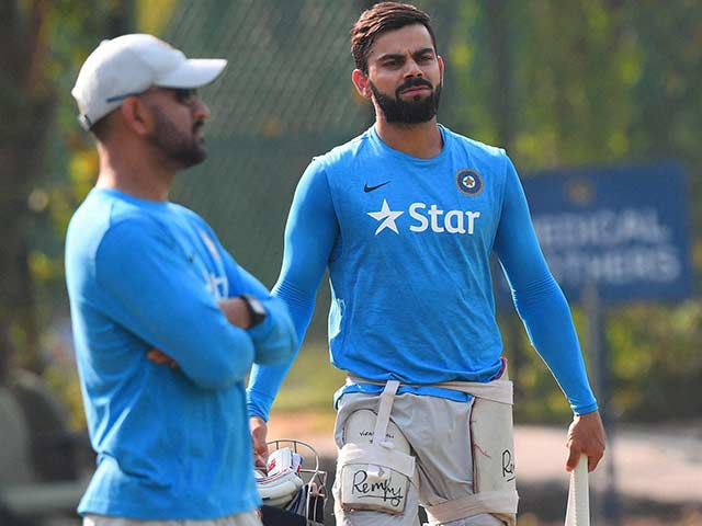 MS Dhoni's India Train Hard to Get Back on Winning Track Against New Zealand