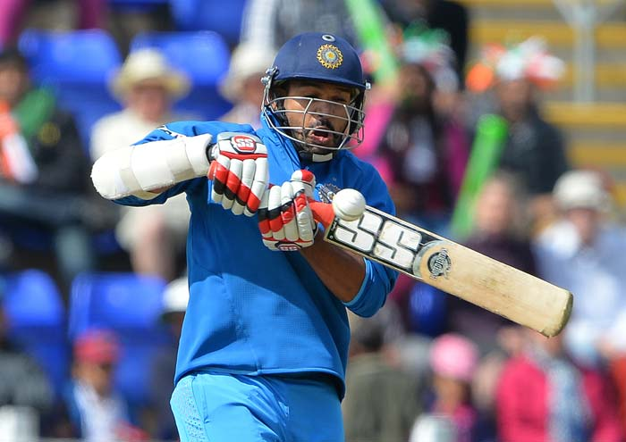 Shikhar Dhawan looked to continue where he left off against Australia in Mohali.