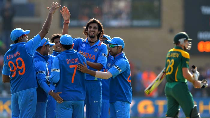 India started their campaign in the ICC Champions Trophy with a 26-run win over South Africa in Cardiff. (AP and AFP)