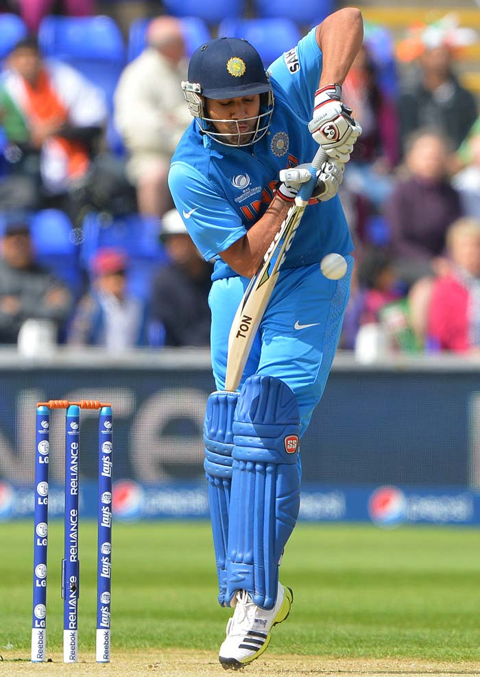 Rohit Sharma got back into form scoring 65 from 81 balls.