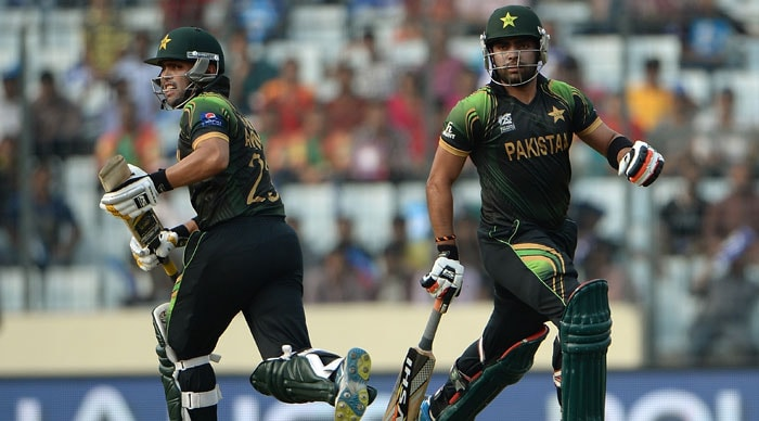 Kamran Akmal was joined by younger brother Umar Akmal as the duo steered Pakistan out of trouble.