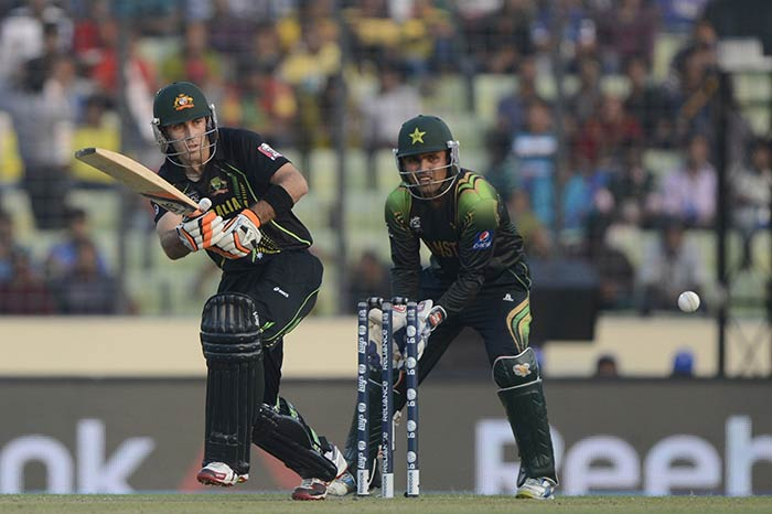 Shane Watson too fell cheaply and that brought Glenn Maxwell to the wicket, the man who provided a counter for Umar Akmal's sensational innings.