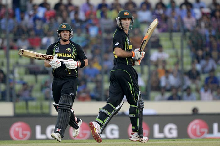 Maxwell and Finch joined hands to orchestrate Australia's revival and keep them alive in the run-chase.