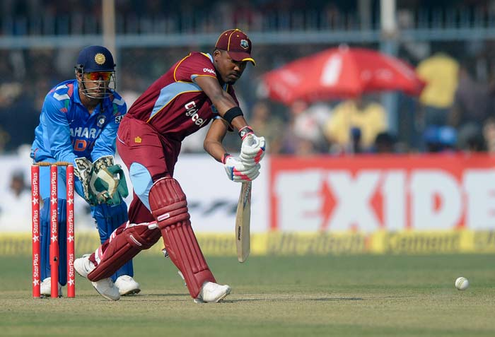 Darren Bravo notched up his 15th fifty to ensure West Indies put up a challenging total.