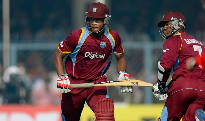 Half-centuries by Kieran Powell, Marlon Samuels and Darren Bravo powered West Indies to 263 for five wickets in 50 overs.