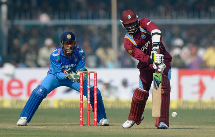 Marlon Samuels, who was dropped by Virat Kohli at slips when on 60, was bowled by Ashwin soon after for 71.