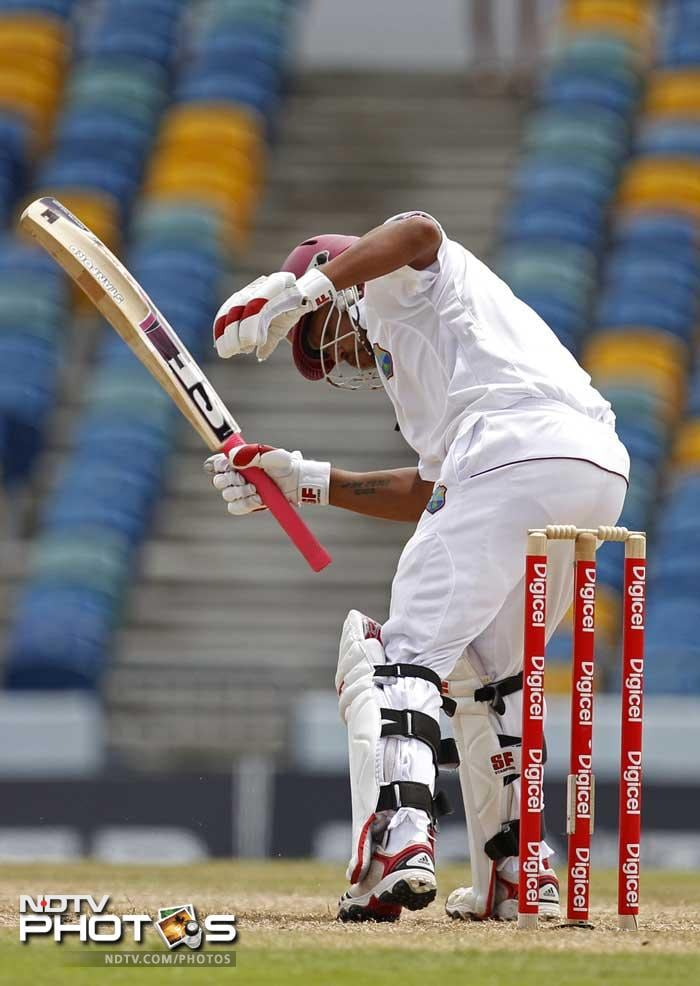 Sarwan is now without a half century in his last 12 Test innings. (AP Photo)