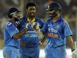 Photo : Ambati Rayudu Slams Maiden ODI Ton as India Take 2-0 Lead vs Sri Lanka