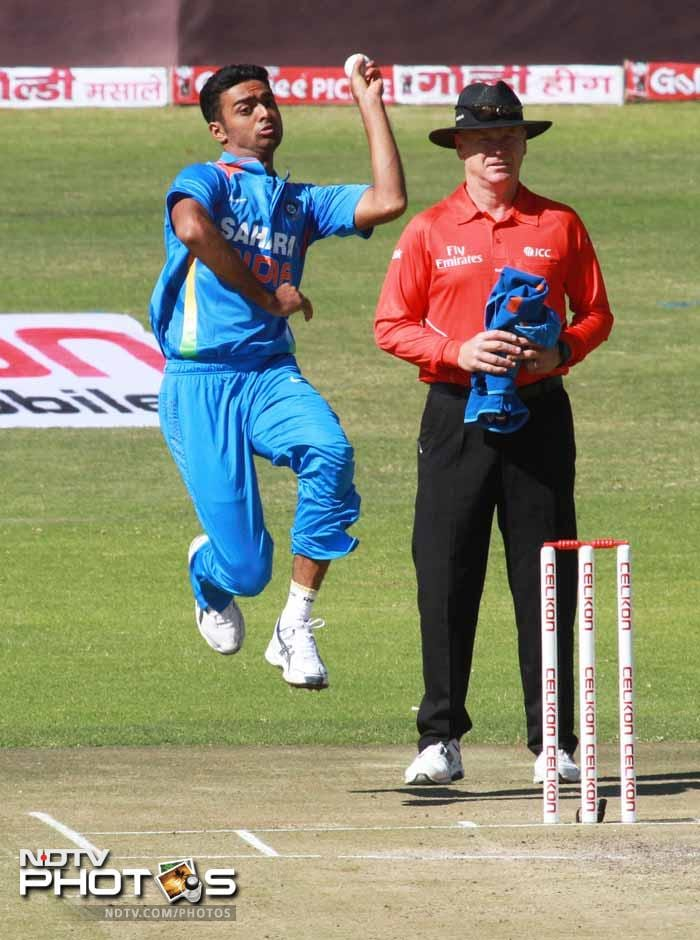 Jaydev Unadkat was in good touch bowling a tight line.