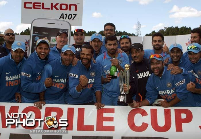 India sealed a 5-0 clean sweep for the first time on foreign soil - their fourth in ODIs. India's first 5-0 clean sweep was against England in 2008-09, followed by against New Zealand in 2010-11 and England in 2011-12.