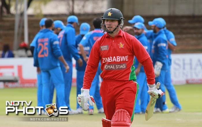 Zimbabwe skipper Brendan Taylor failed miserably in the series. He scored just 35 runs in five matches.