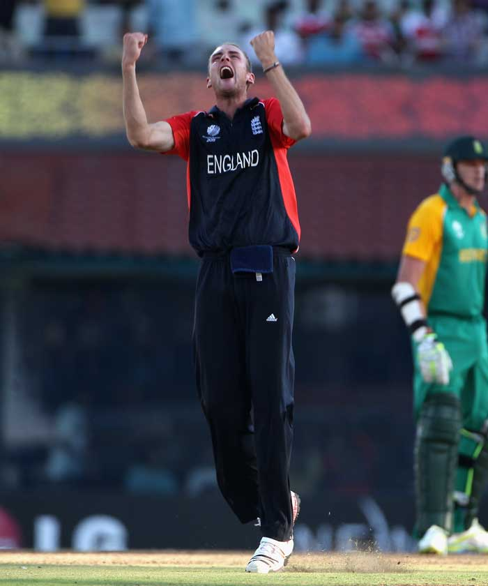 To say that Stuart Broad sacrificed himself to bowl England to victory against South Africa would not be completely false. A side strain during the second spell of the match has forced the pacer to call it quits midway and return home. STATUS: OUT (Getty Images)