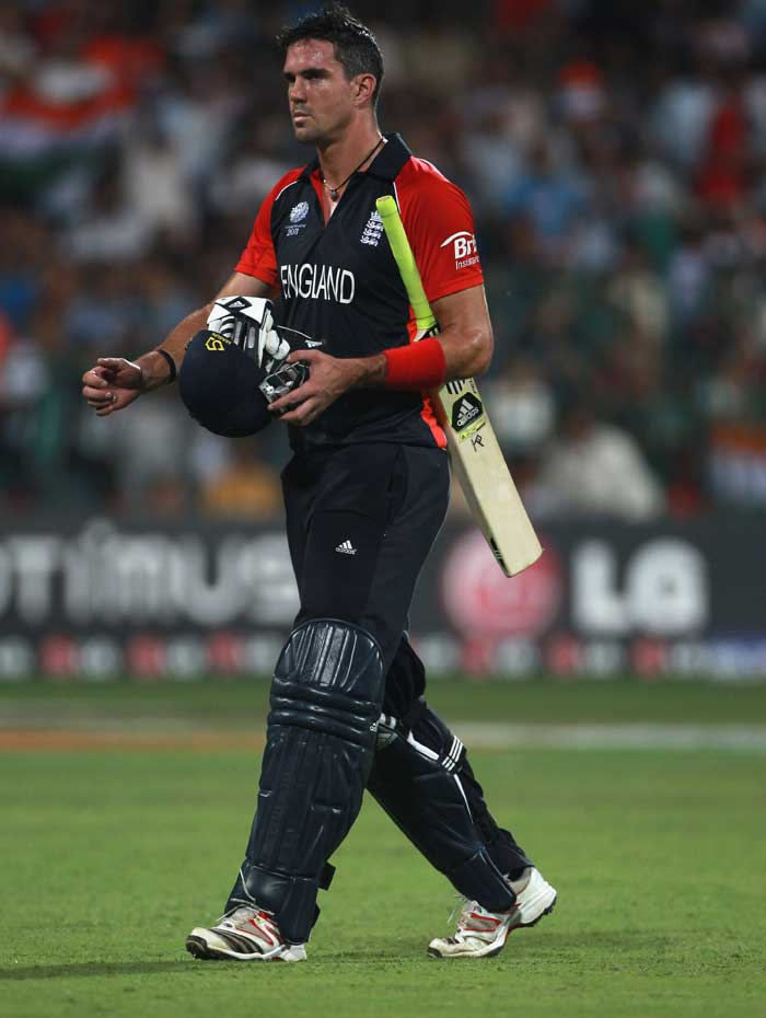 Geoffrey Boycott says his exit is no big loss. Big or otherwise, Kevin Pietersen's hernia problem was taken with a note of serious caution from English medics. It was decided that Chris Tremlett would replace him as the surgery could not wait until the end of the tournament. STATUS: OUT (Getty Images)