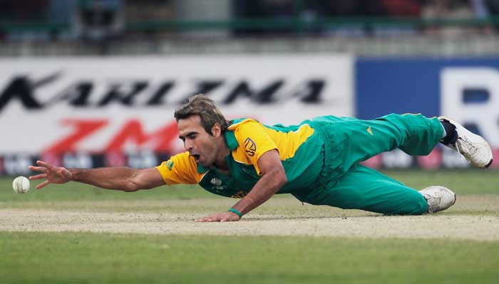 Imran Tahir's spin has turned heads in the tournament so far. Reports however, reveal that the Pakistan-born South African spinner has fractured his thumb and that he is in considerable pain. Team management though remains hopeful of him continuing to turn tables on opponents. STATUS: IN (Getty Images)