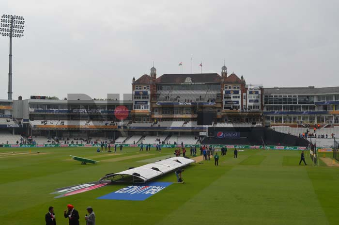 The picturesque Oval in London was the venue for India's clash against the West Indies, a Group B encounter of two in-form teams.