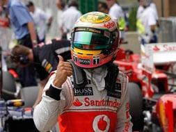 Photo : Brazilian Grand Prix, Qualifying: Lewis Hamilton snatches pole, Sebastian Vettel on fourth