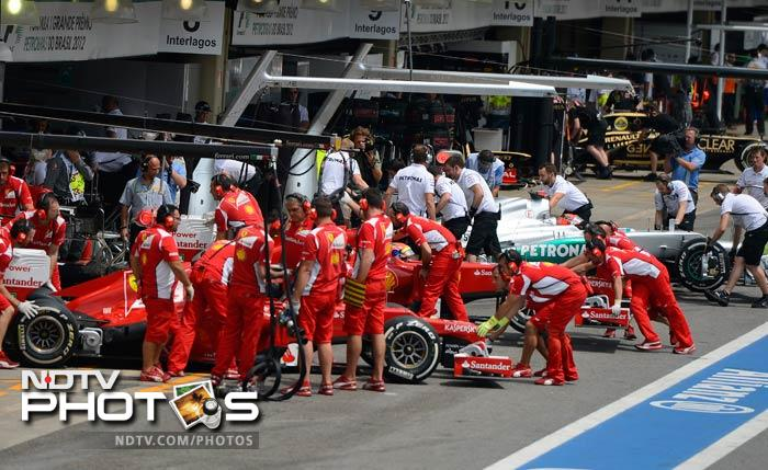 Felipe Massa bettered his teammate once again, coming in fifth while Alonso was eighth. Alonso, though, had a favour coming his way once again and this time not from his team but Pastor Maldonado, whose penalty gave the Ferrari no.1 one place jump on the starting grid.