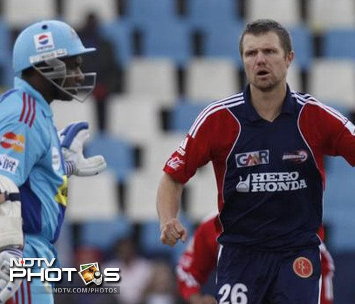 Dirk Nannes' consistency paid him off as he was taken by Chennai Super Kings for $600,000