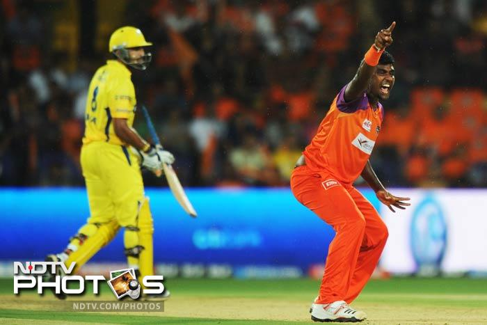 Sri Lanka's Thisara Perera was pouched up by Sunrisers Hyderabad for $675,000.