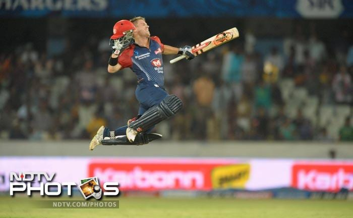 Fellow Aussie David Warner was bought by Sunrisers Hyderabad for INR 5.5 crores.