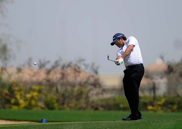 His 'shots' were as powerful as they were on the cricket field as Sachin Tendulkar showcased similar skills on the golf course. (BCCI photo)
